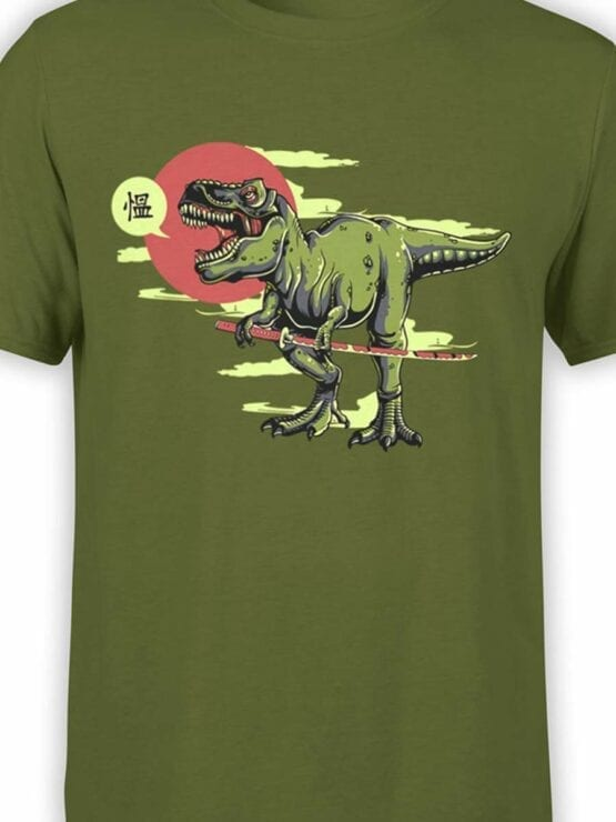 0597 Dinosaur Shirt Samurex_Front_Color