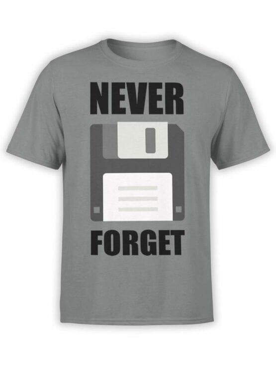 0598 Funny T-Shirts Never Forget_Front Asphalt