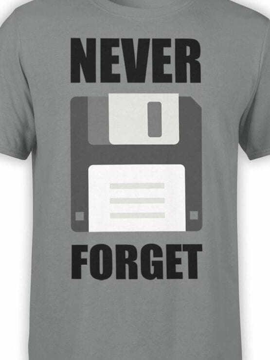 0598 Funny T-Shirts Never Forget_Front_Color