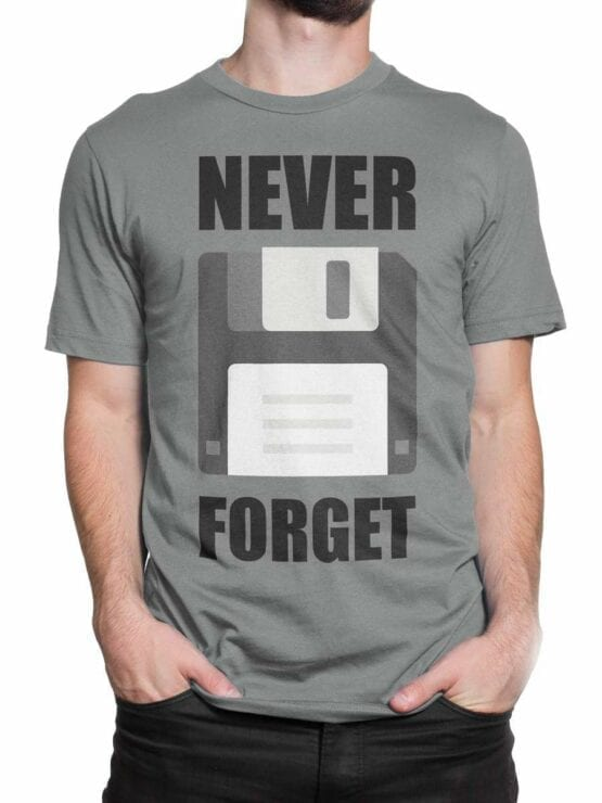 0598 Funny T-Shirts Never Forget_Front_Man_2
