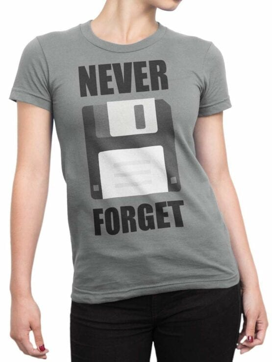 0598 Funny T-Shirts Never Forget_Front_Woman