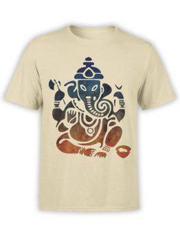 0604 Cool T-Shirts Shri Ganesha_Front