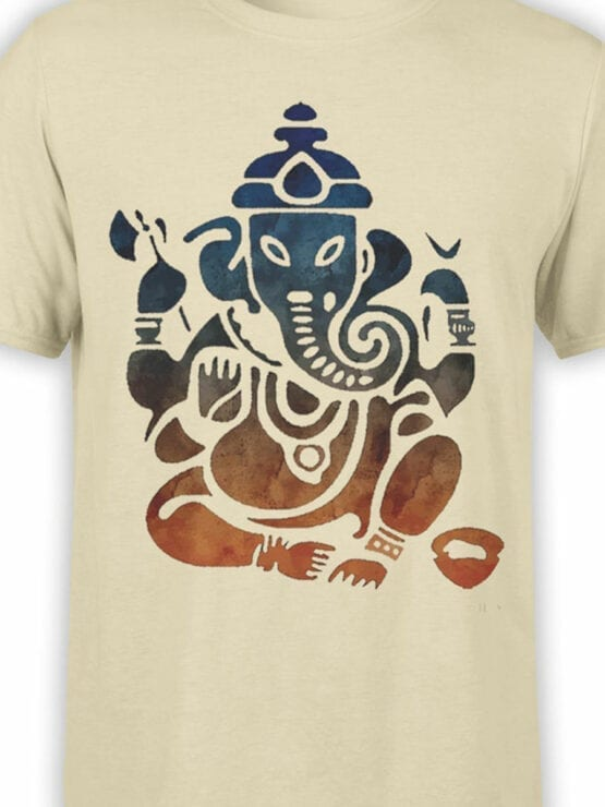 0604 Cool T-Shirts Shri Ganesha_Front_Color