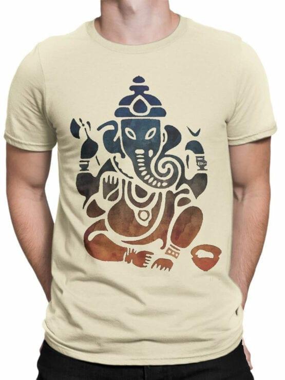 0604 Cool T-Shirts Shri Ganesha_Front_Man