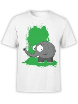 0611 Elephant Shirt Paint
