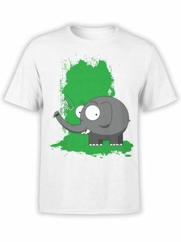 0611 Elephant Shirt Paint