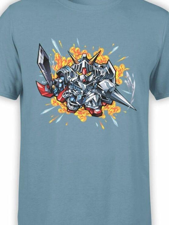 0615 Gundam Shirt Knight_Front_Color