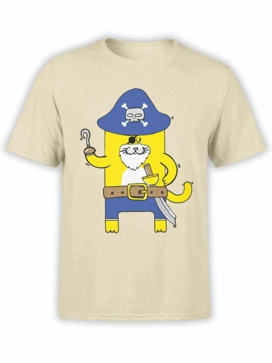 0617 Cat Shirts Captain Meow_Front