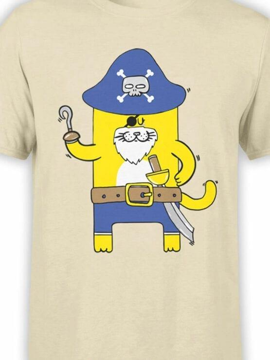 0617 Cat Shirts Captain Meow_Front_Color