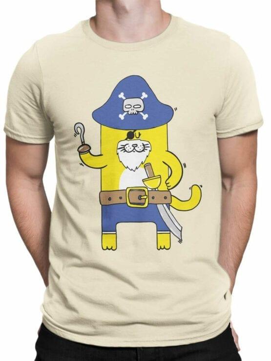 0617 Cat Shirts Captain Meow_Front_Man