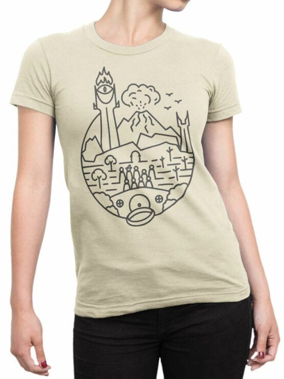 0632 Lord of the Rings Shirt Lord of Graphic