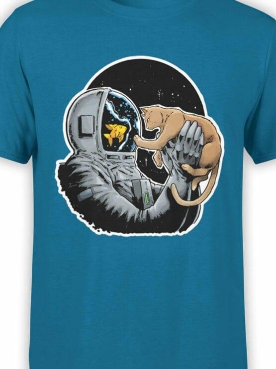 0634 NASA Shirt Fish and Cat