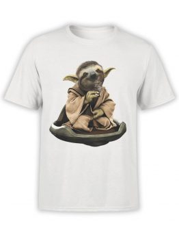 0642 Star Wars T-Shirt Sloth Yoda