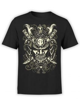 0645 Samurai Shirt Mask