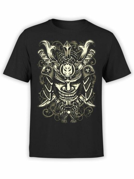 0645 Samurai Shirt Mask