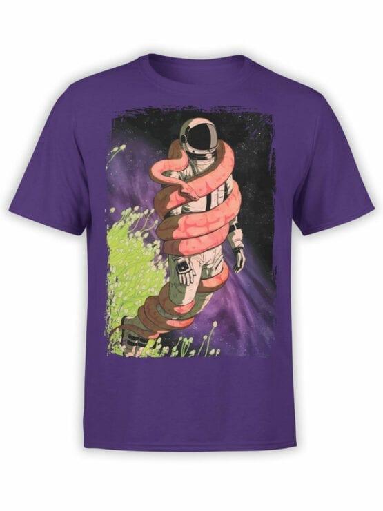 0648 NASA Shirt Snake Front