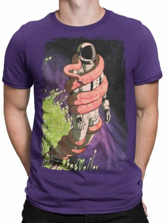 0648 NASA Shirt Snake Front Man