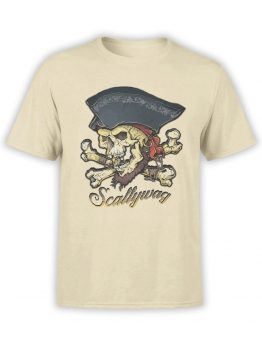 0649 Pirate Shirt Scallywag Front