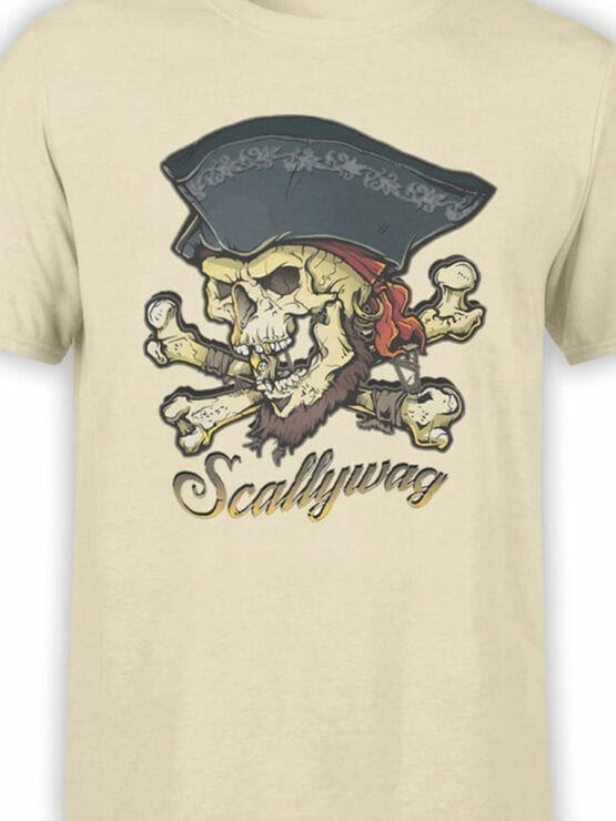 0649 Pirate Shirt Scallywag Front Color