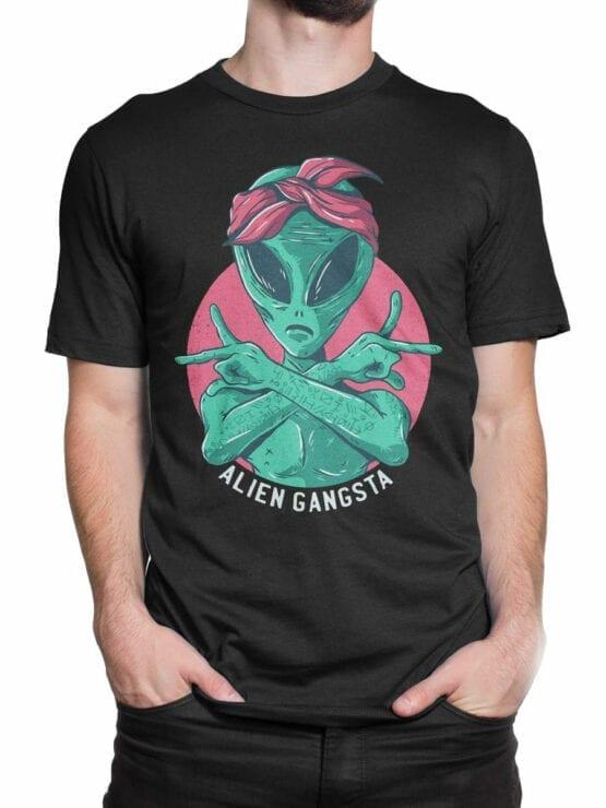 0650 Alien Shirt Gangsta Front Man 2