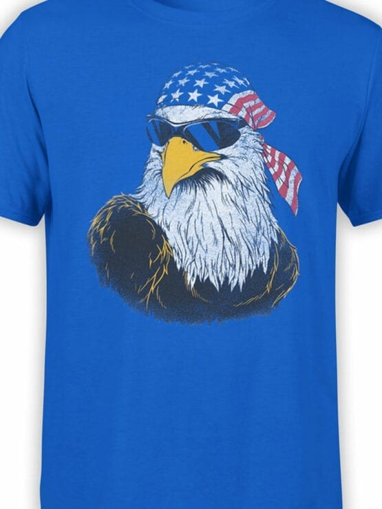 0652 Patriotic Shirts American Eagle Front Color