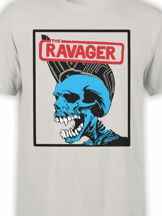0654 Pirate Shirt Ravager Front Color