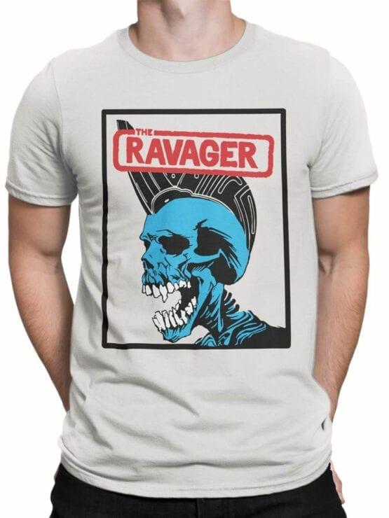 0654 Pirate Shirt Ravager Front Man