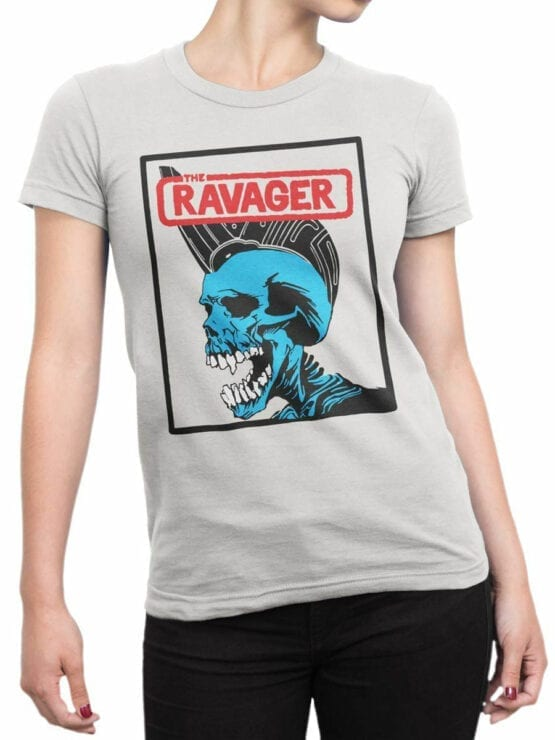 0654 Pirate Shirt Ravager Front Woman