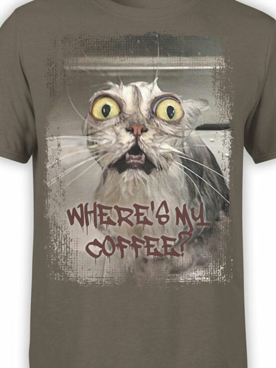 0656 Coffee Shirts Where Front Color