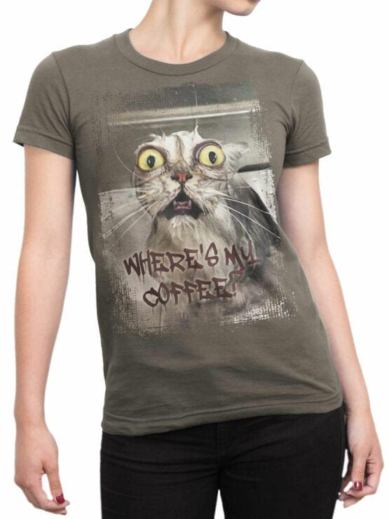 0656 Coffee Shirts Where Front Woman