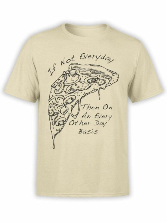 0657 Pizza Shirt Everyday Front