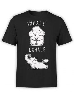 0659 Elephant Shirt Elephant Yoga Front
