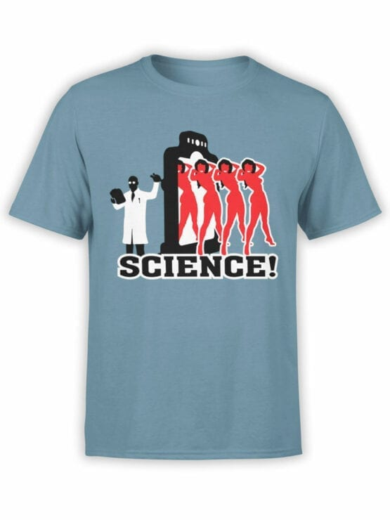 0662 Science Shirt Girls Front