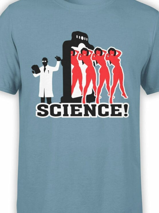 0662 Science Shirt Girls Front Color