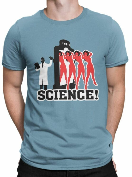 0662 Science Shirt Girls Front Man