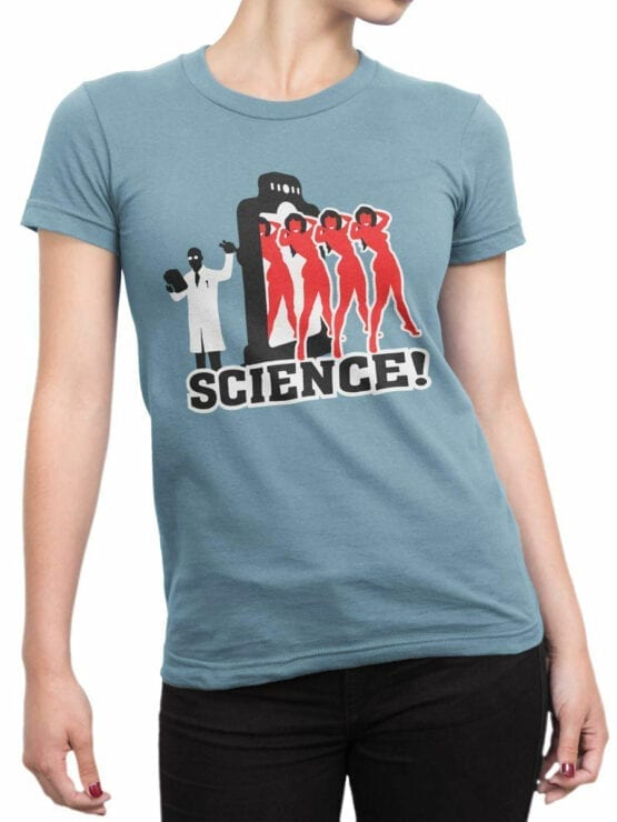 0662 Science Shirt Girls Front Woman