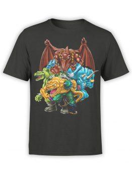 0663 Dinosaur T Shirt Extreme Front