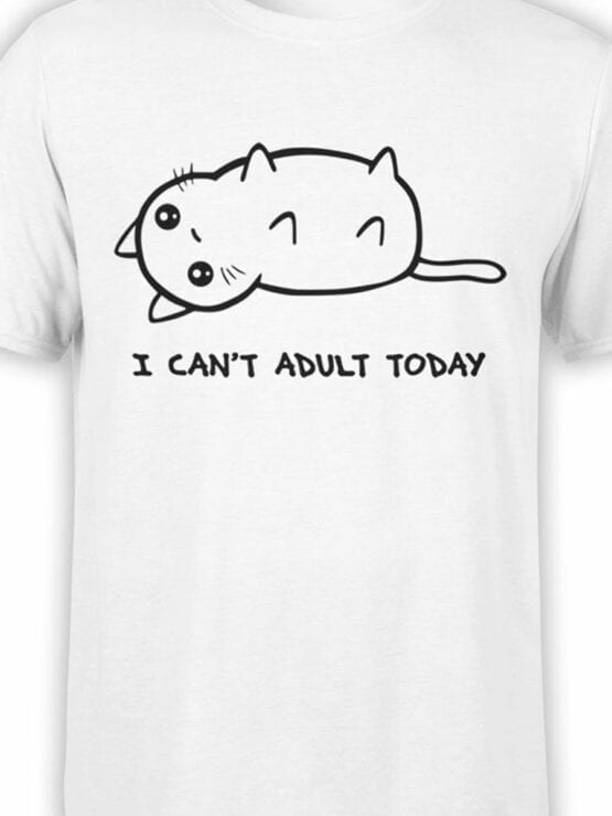 0666 Cat Shirts Adult Front Color