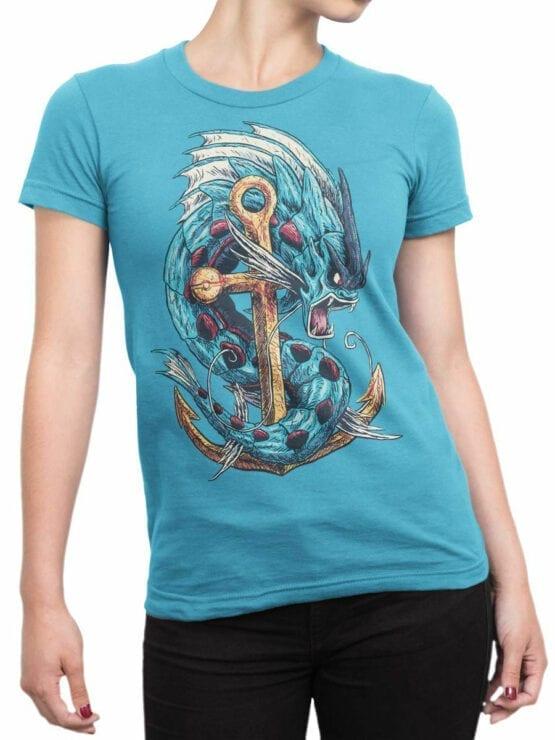 0667 Dragon Shirt Rage Front Woman