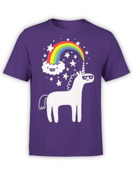 0668 Unicorn Shirt Unicorn Cloud Front