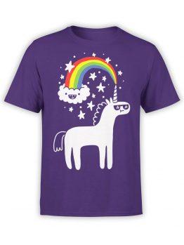 0668 Unicorn Shirt Unicorn Cloud Front