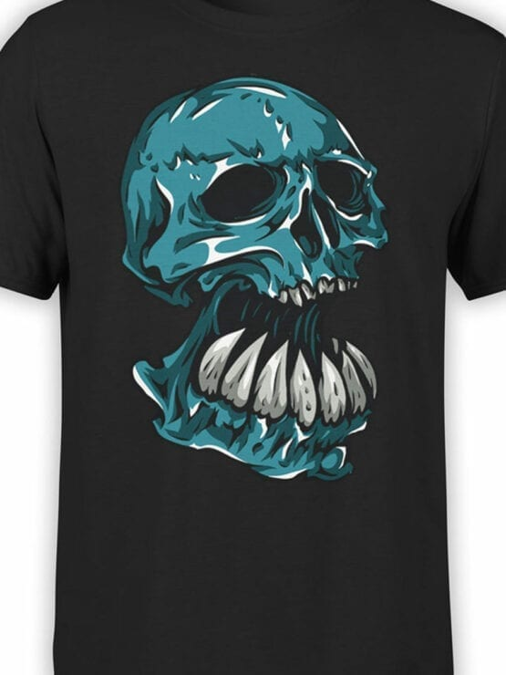0669 Skull Shirt Troll Front Color