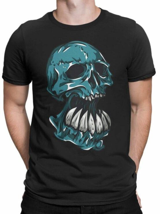0669 Skull Shirt Troll Front Man