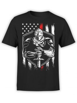 0671 Patriotic Shirts USA Defender Front