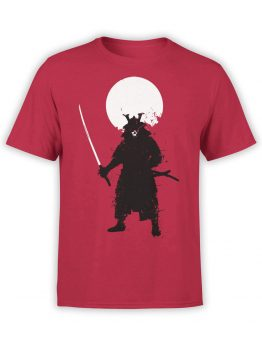 0673 Warrior Shirt Ghost Samurai Front