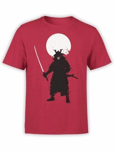 0673 Warrior Shirt Ghost Samurai Front
