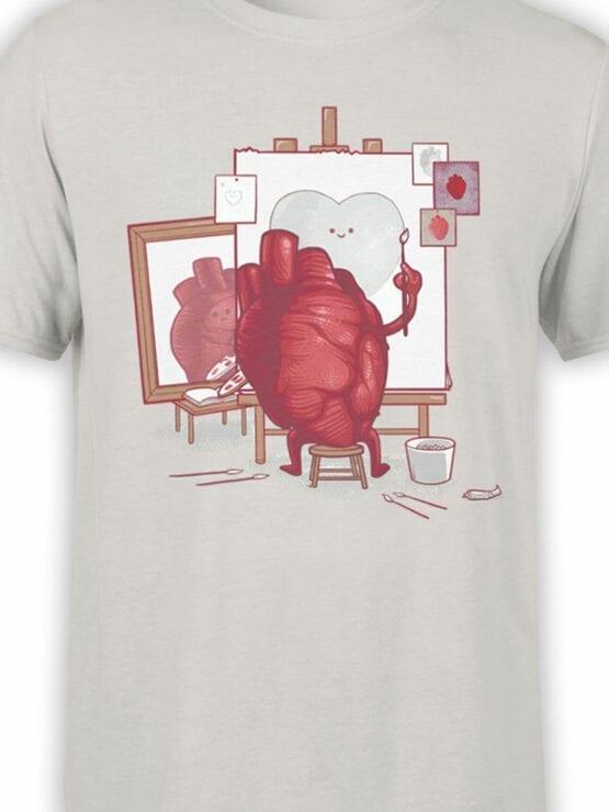0674 Cool T Shirts Self Portrait Front Color