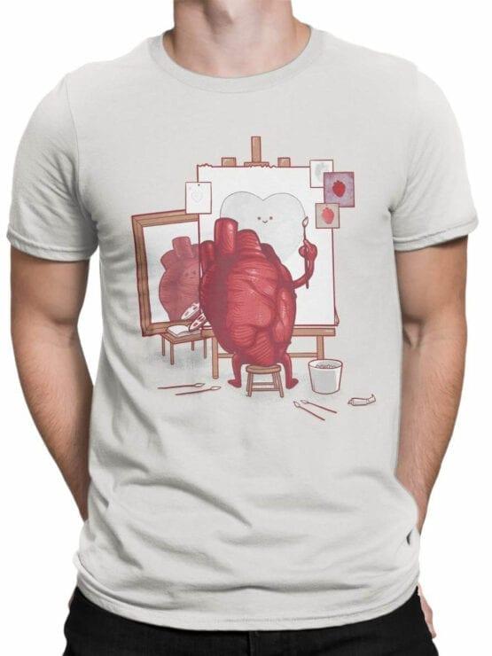 0674 Cool T Shirts Self Portrait Front Man