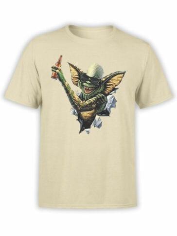 0675 Gremlin T Shirt Beer Front