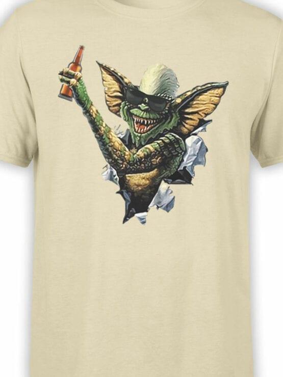 0675 Gremlin T Shirt Beer Front Color